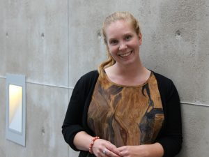 Jenny Lagergren, new project manager